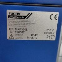 德国Fuchs流体过滤器KFS080E用于焊接行业