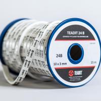 Teadit® 法兰保护器由纯 PTFE 织物和绳索制成